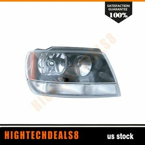 Fits Jeep 2002 2003 Grand Cherokee Laredo Head Right Side Light Assembly