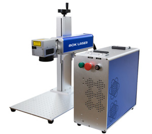 Aok Laser 50w Portable Fiber Laser Marking Machine Laser Raycus us Seller