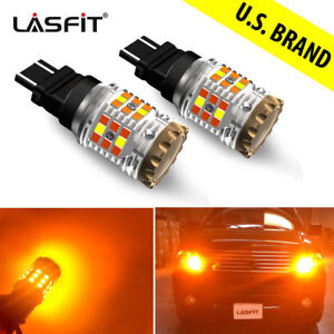 3157 Canbus Led Front Turn Signal Light Bulb For Chevy Silverado 1500 2006 2013
