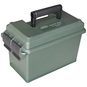 MTM 50 Caliber Ammo Storage Can Military-style Box Chest Holder USA Dry Storage