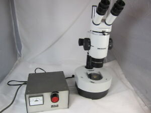 Wild Microscope M8 With Transmitted Light Stand Bright Field Dark Field Filter