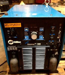 Miller Auto Axcess 300 Volts 230 40 460 575 Three Ph Robotic Mig Arc Welder