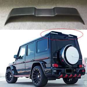 W463 Rear Spoiler Rear Wing For Mercedes G500 G550 G55 Wald Style