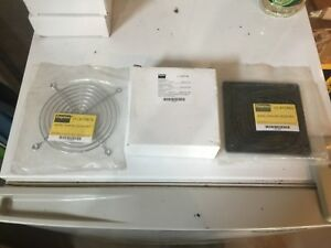 Dayton Axial Fan 115 Volts Ac 20 Watts 115 Cfm Model 4wt46 W 2 Accessories