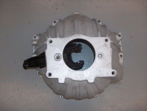 Chevy Camaro 10 Saginaw Muncie 4 Speed Trans Alum Bell Housing 3840383 W fork