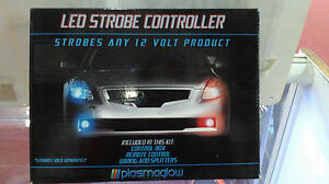 Led Strobe Controller With Remote