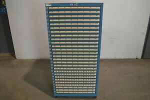 Lista Deluxe 27 Drawer Industrial Parts Cabinet With Storage Bins