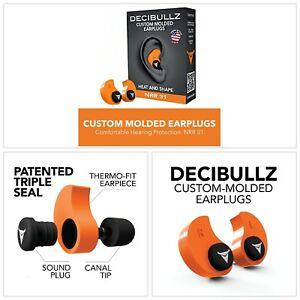 Molded Earplugs 31 Db Highest Nrr Comfort Hearing Protection For Travel Swimming