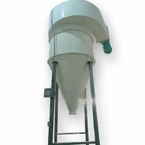 Used 3200 Cfm Mikropul Cyclone Pulse Jet Bag House Filter Dust Collector