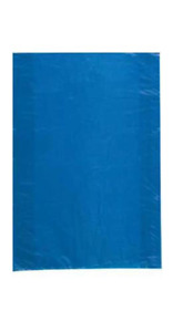 500 Wholesale 30 High Density Blue Plastic Merchandise Shopping Bags