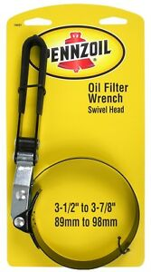 Pennzoil Adjustable Swivel Head Wrench Oil Change Filter Remover Tool Car Truck