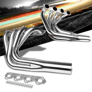 Stainless Steel Exhaust Header Manifold For Big Block Chevy Engine 402 427 454