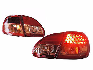 Usa Only for Toyota Corolla Altis 2003 2007 Led Tail Lights Rear Lamps Red clear