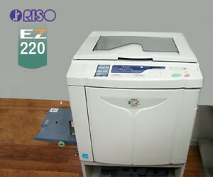 Riso Risograph Ez 220u High Speed Duplicator