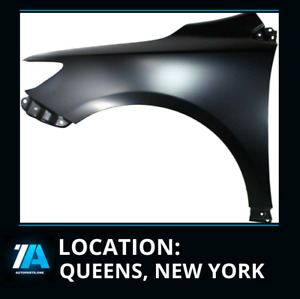 New Front Left Fender Made Of Steel Fit Toyota Corolla Sedan 2009 2013 To1240224