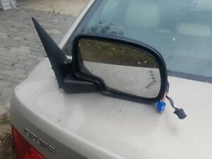 2004 Side View Mirror Power Signal Passenger Right Rh For Silverado Gmc Truck