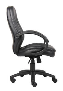 Boss Office Home Black Executive Chair Brand New Factory Sealed