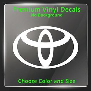 Toyota Decal Toyota Sticker Trd Tacoma Decals Camry Decal Celica Decals