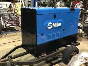 Miller Welder 402p Generator Stick Rig And Mig Perkins Diesel Liquid Cooled