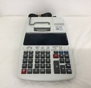 Canon Mp49d Office Business Commercial Desktop Printing Calculator Accounting
