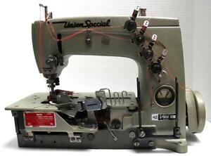 Union Special 57800vz Coverstitch 2 needle Binder Industrial Sewing Machine Head