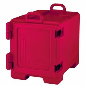 Cambro Upc300158 Hot Red Front Loader 36 Qt Food Pan Camcarriers