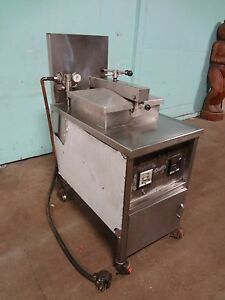 duff H d Commercial 60 Cap Electric Pressure Fryer W filtration Capability