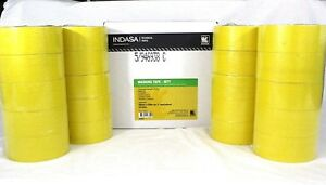 Indasa 563199 2 Yellow Premium Automotive Masking Tape 20 Rolls