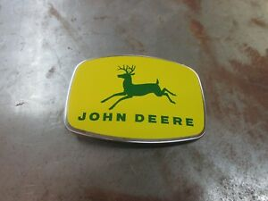 John Deere Tractor Reproduction Front Grille Emblem Ornament Ar2111r Ar21112r