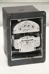 Ge General Electric 700x63g90 2 station Watthour Meter 120v 3w 60hz