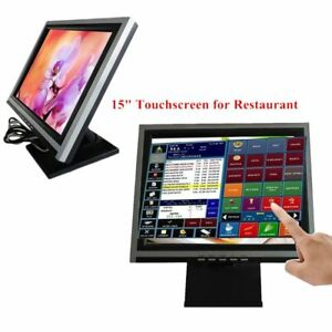 15 Touch Screen Monitor Led Pos Retail Kiosk Restaurant Touchscreen From Us