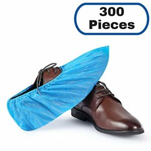 Mifflin Disposable Cpe Shoe Covers 300 Pieces Waterproof Durable Boot Covers S