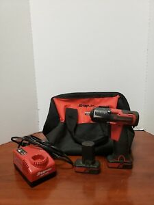 Snap on Ct761 14 4v 3 4 Drive Drill With Batteries And Charger In Bag C x