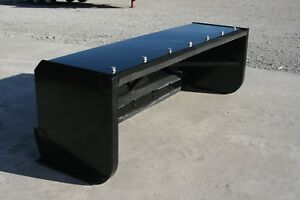 Ideal Push Pull Snow Pusher F skid Steer Loader Bobcat case Kubota Snow Plow