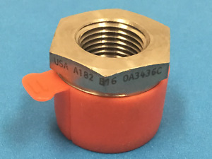 Asp Stainless Steel Sanitary Fitting Adapter 1 X 1 2 New