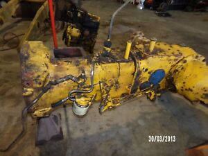 Ford Tractor backhoe sky Trak Shuttle Shift Transmission An Rear Axle Assembly