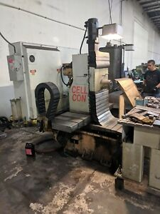 Cell Con H15 Horizontal Cnc Machining Center With Fanuc Controls And Tooling