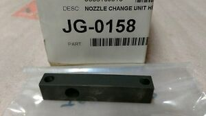 Universal Instruments Jg 0158 Nozzle Change Unit Height Adjustment Jig new