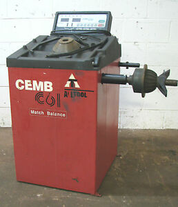 Cemb All Tool C61 Computer Wheel Balancer Machine 312
