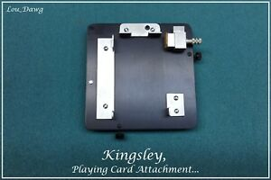 Kingsley Machine Playing Card Attachment Hot Foil Stamping Machine