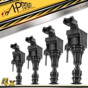 4pcs Ignition Coil For Chevy Malibu Hhr Cobalt G5 Ion Sky 05 17 2 2l 2 4l Uf 491