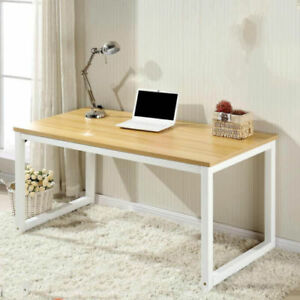 Modern Furniture Wood Desk Computer Pc Laptop Table Home Office Study Table