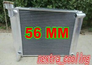 Fit 1955 1962 Mg Mga 1500 1600 1622 De Luxe Mt 61 60 59 58 57 Alumin7um Radiator