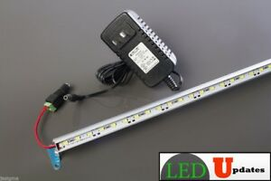 2ft Showcase Display Led Light Pure White V5630 With Ul Listed Power Supply U s