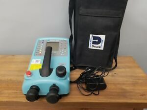 Druck Dpi 610 7 Bar Pressure Calibrator Fantastic Condition With Bag And Charger