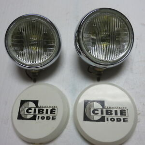 Nos Vintage Original 60s 70s Cibie Oscar 7 Driving Lights