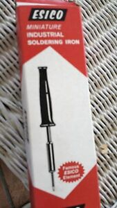 Soldering Iron 50 Watts A94504 Esico 9450x 120v With Tip