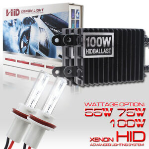 Xenon Headlight 55w 75w 100w Hid Kit H11 H4 H7 H8 H9 880 5202 9012 H10 9006 9005