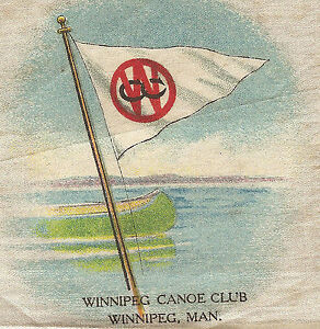 Vintage Antique Tobacco Cigarette Silk Use In Crazy Quilt Winnipeg Canoe Club