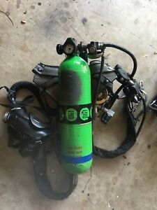 Msa Scba Airpack 4500 Psi Tank Mask And Spare Parts